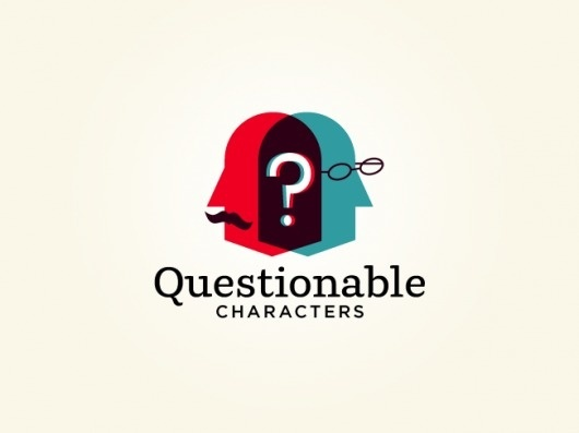 Questionable Characters | The Graphic Works of Ben Barry #logo #design