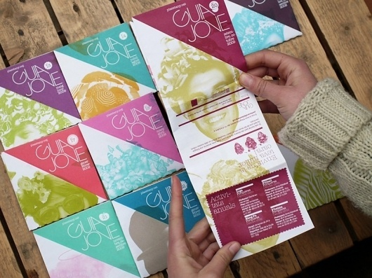 Looks like good Print Design by Vellut #fold #print #design #out