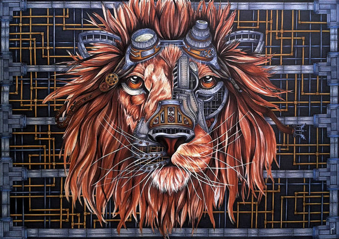 Best Lion Art Steampunk Sketches Drawing Images On Designspiration