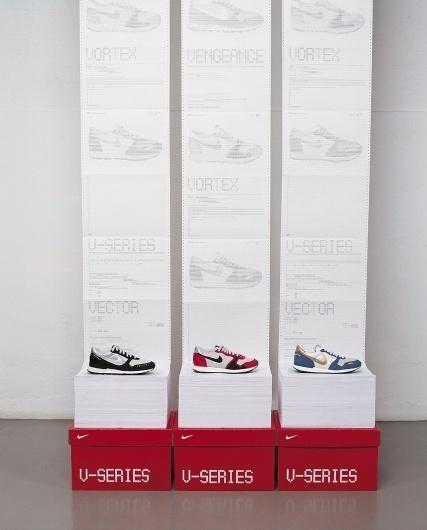 Spin: Nike V-Series   September Industry #advertising #print #illustration
