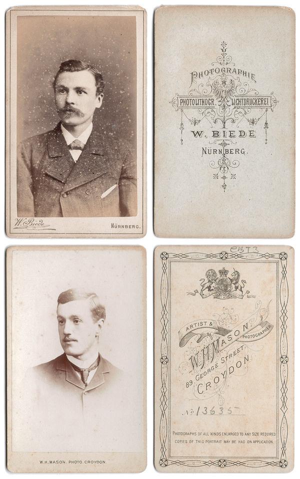 photography cards #photographers #photography #portrait #vintage #cards