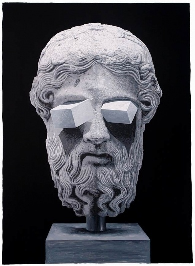 Two Dimensions : Daniel Arsham #surreal