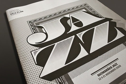The Jazz 09 Journal on the Behance Network #atelier #print #design #martino #editorial #typography