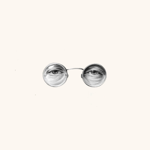 the eyes by Von #glasses #john #lennon