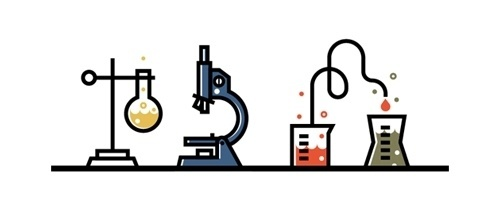 Field Study | Science illustration — work in progress… #vector #keenan #field #cummings #icons #illustration #study #logo