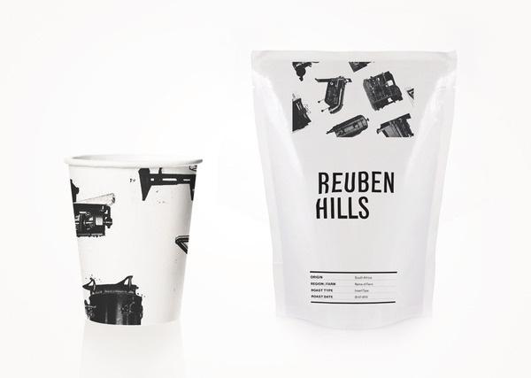Reuben Hills Luke Brown #packaging #branding