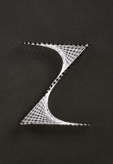 Weave Type on the Behance Network #lettering #typography