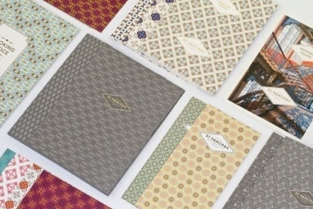 North: St Pancras Renaissance Hotel   Tundra Blog #pattern #branding #print #art #deco