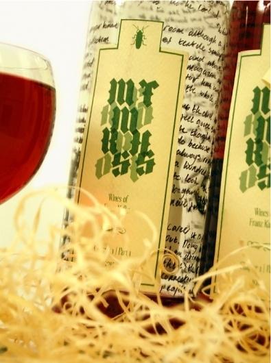 Taran Uppal Design: Metamorphosis Unconventional #packaging #design #graphic #wine