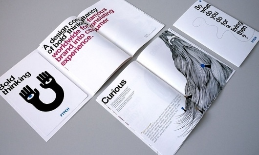 Fitch Book – Glint Create #typography #design #book #illustration #clever #cool