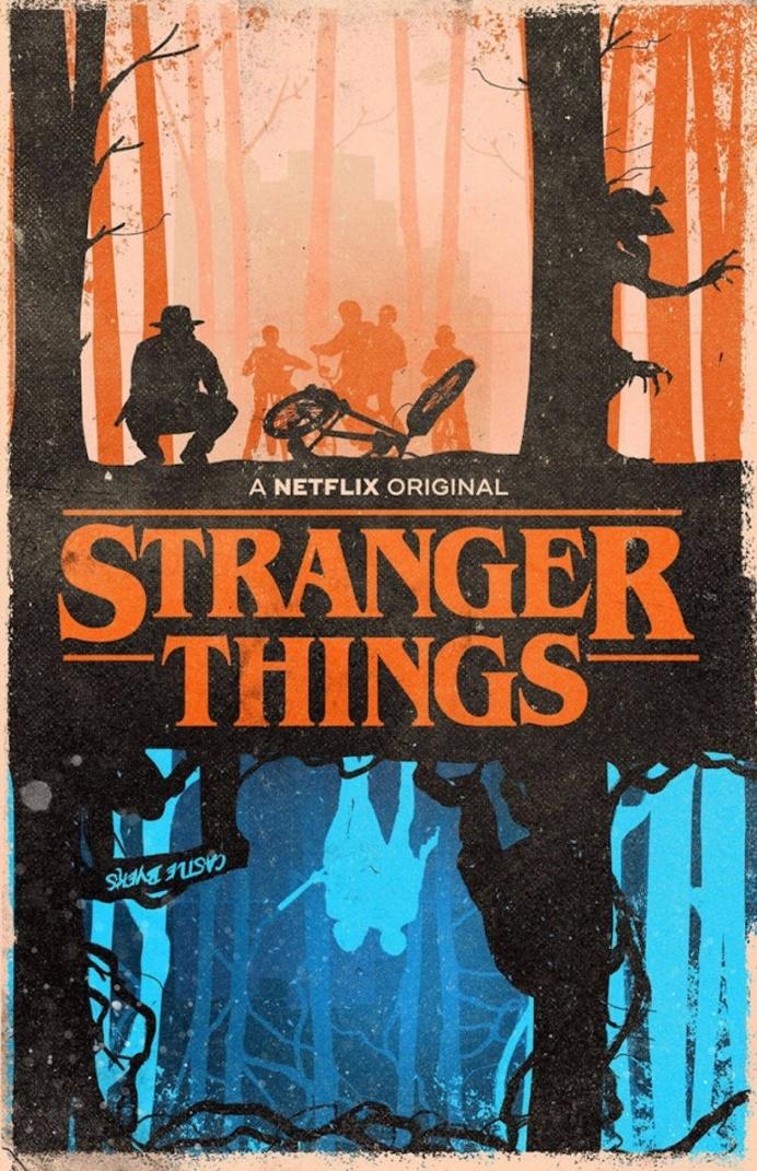 Superb Fan Art Posters of Stranger Things