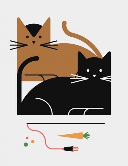 tumblr_lhiouzDqLN1qhwv4so1_500.jpg (JPEG Image, 500x648 pixels) #illustration #cat