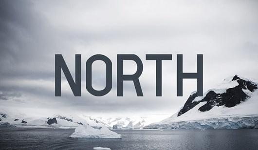 Reitag Regular - Font on the Behance Network #reitag #reg #north #typography