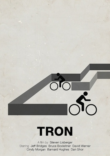 Pictogram Movie Posters Design You Trust Social Inspiration