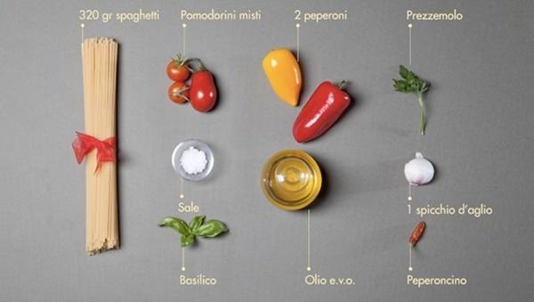 spaghettipeperoni2 #ingredients #italian #recipe #food