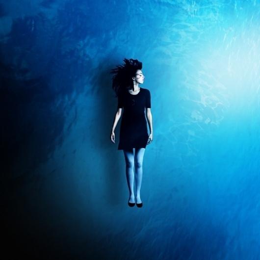 Martin Stranka   Colossal #water #girl #photography #stranka #blue #martin