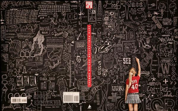 40th Publication Design Annual #illustration #environment #chalk