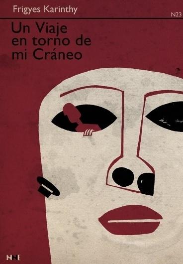 Un viaje en torno de mi Cráneo 1974 Joaquín Pertierra #cover #illustration #illu #book