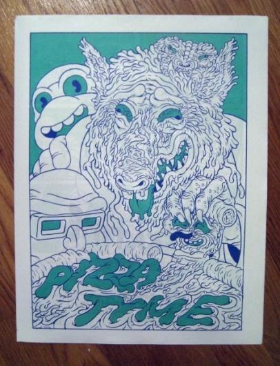Jon Vermilyea / Pizza Time #comic #ninja #illustration #mutant #pizza #turtles #teenage