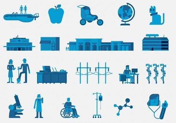 Prudential Icons - Leta Sobierajski / Motion & Design