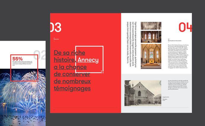 Annecy - Brand design on Behance