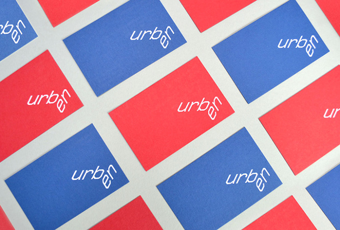Urben by Ranch #business #card #graphic #design