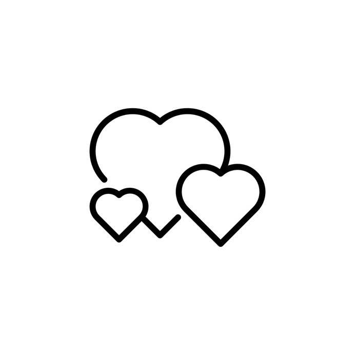 See more icon inspiration related to heart, love and romance, shapes and symbols, valentines day, valentines, romantic, hearts and love on Flaticon.