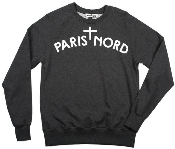 PARIS + NORD #paris #clothing #nord #sweatshirt #fashion #parisnord