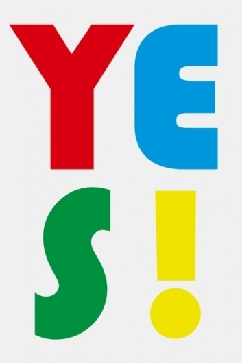 Yes! – Sulki & Min #primary #min #yes #colors #poster #and #sulki #typography