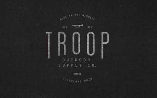 017be1550fd210fec84e783ea96e146c #stamp #troop #design #identity #logo