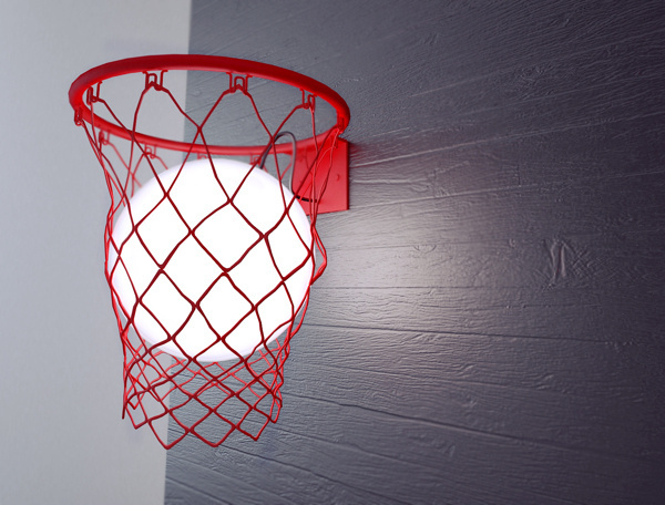 Light Ball | The Coolector #ball #lamp #light #basket