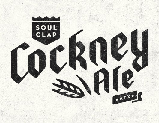 All sizes | Cockney Ale logo | Flickr - Photo Sharing! #lettering #illustration #handmade #logo #typography