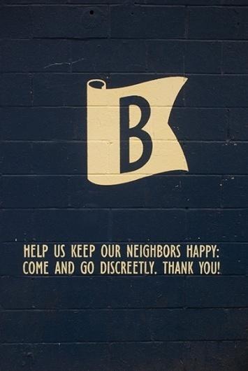 tumblr_ls7hmknGye1qzw1igo1_500.jpg 402×600 pixels #lettering #badge #glyph #wall #painting #letterform