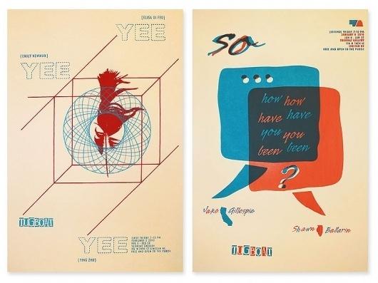 tugboat gallery : justin kemerling, designer #illustration #design #typography