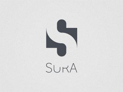 Dribbble - Sura by Sanid Jusić #negative #design #space #identity #studio #logo #typography