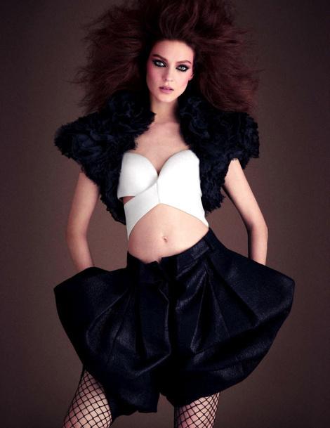 Kati Nescher #model #girl #campaign #photography #fashion #editorial