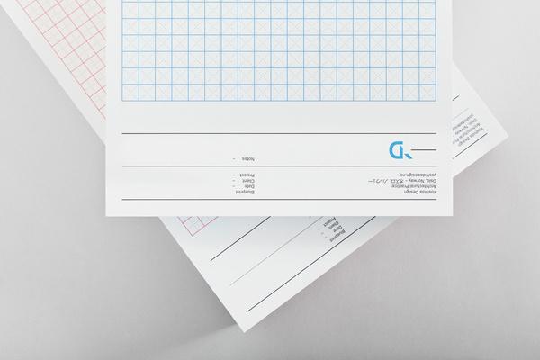 Yoshida Design - Lundgren+Lindqvist #letter #paper #print #identity