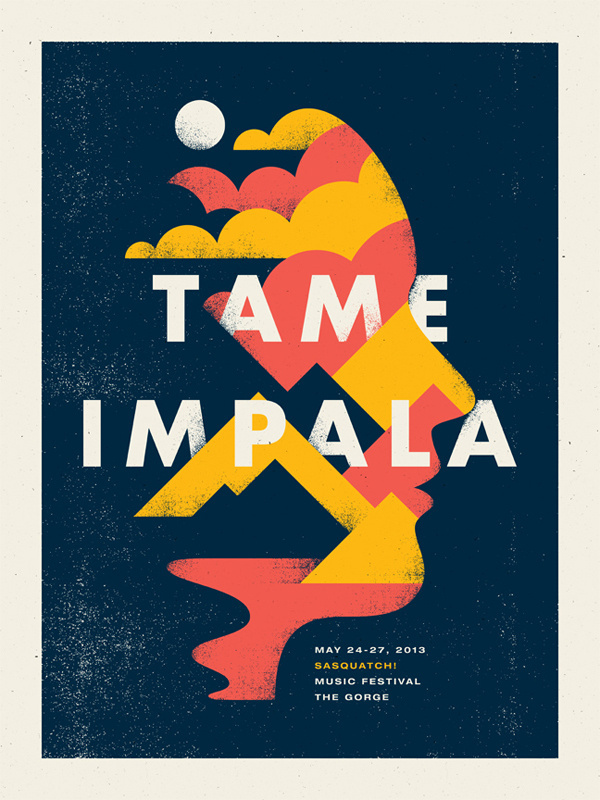 Tameimpala_dribbble #poster