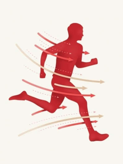 Chemtrail - Paul Tebbott #runner #illustration