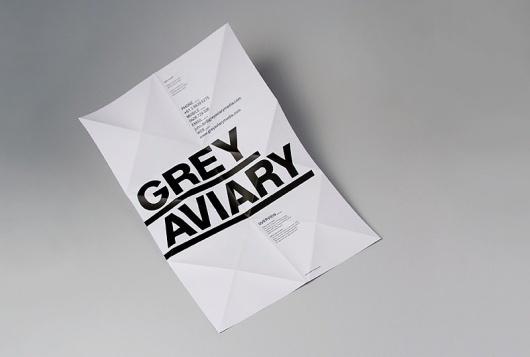 Grey Aviary | COÖP #poster