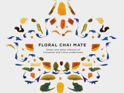 Tea Packaging WIP #pattern #branding #packaging #chai #food #tea #flowers