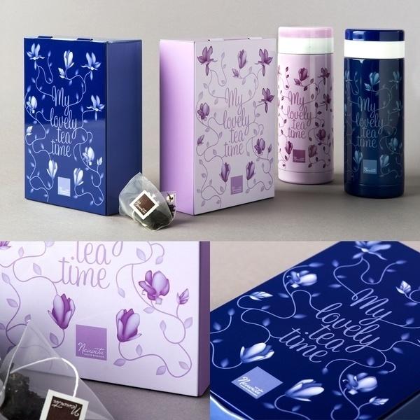 Anna Tomietto / Pinterest #packaging #pack #lovely #tea