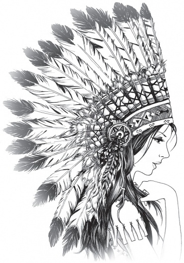 Illustrations on the Behance Network #woman #draw #black #indian #illustration #pencil
