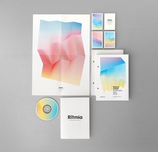 Rítmia   Atipus #brand #identity