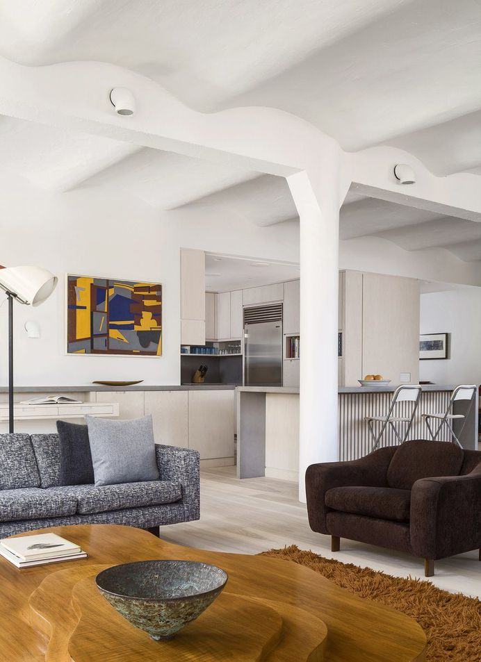 Greenwich Industrial Loft in Manhattan's Tribeca Becomes a Cozy Homes 6