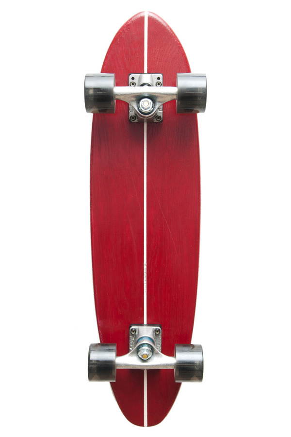 dl skateboard #simple #skateboard #red #surf