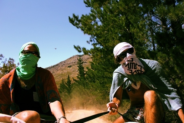 Urika Boss #beaverlac #dust #masks #countryside #vandals