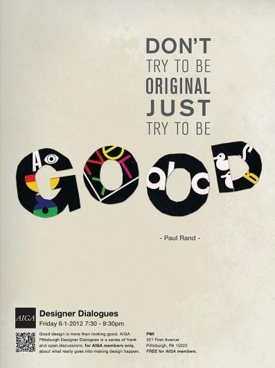 Aeson Chen Graphic Design - AIGA #print #design #rand #poster #aiga #paul