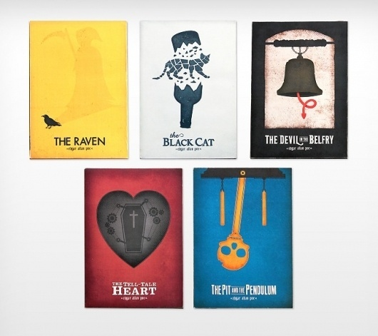 Poe Covers Reimagined - CommonerInc #commisioner #book #covers #inc #reimagined #poe