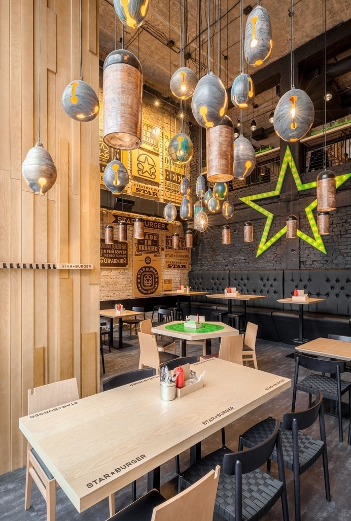 Star Burger – Classic American Bar Atmosphere in the Center of Kyiv